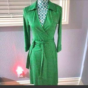 DVF Vintage wrap dress